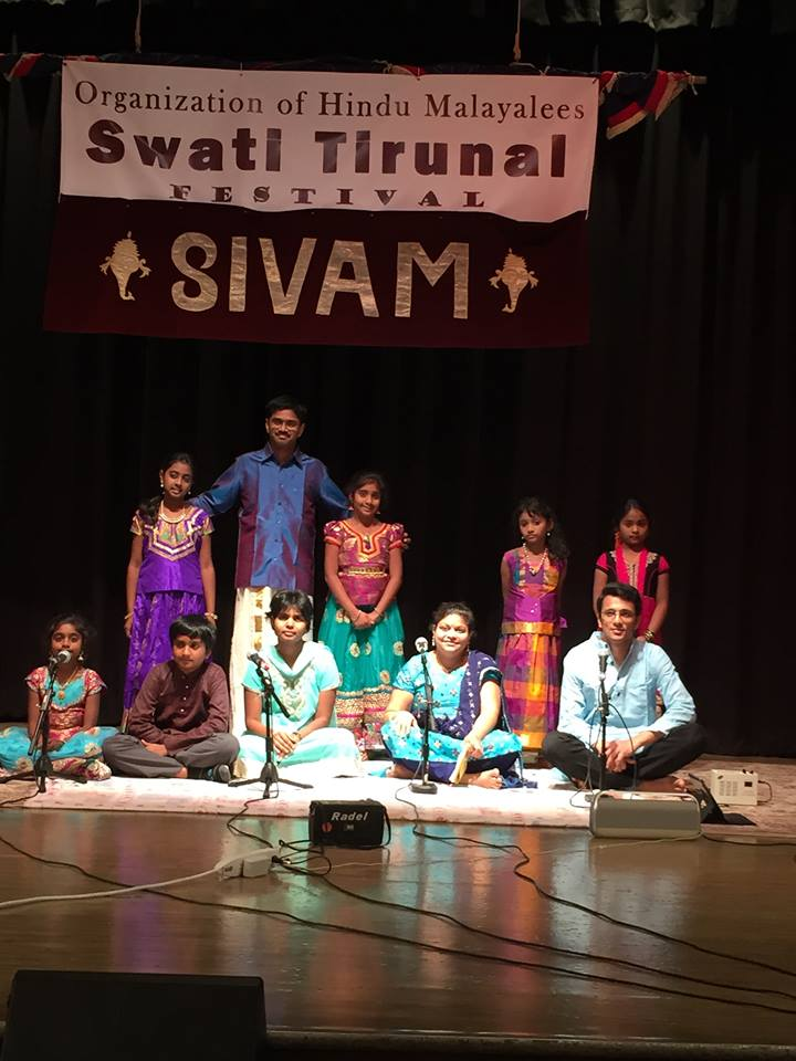 Swathi Thirunal Festival - Apr 2015
